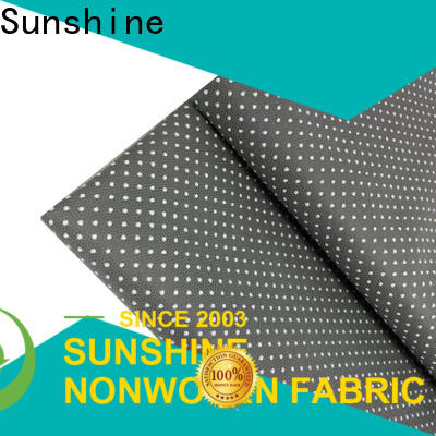 Sunshine recyclable non skid fabric factory price for hotel