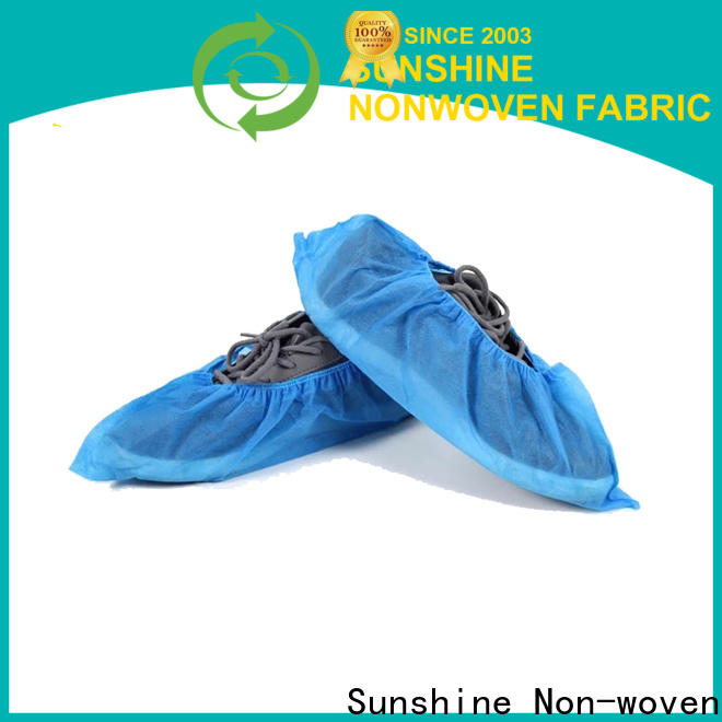 Sunshine printing disposable shoe covers with good price for medical