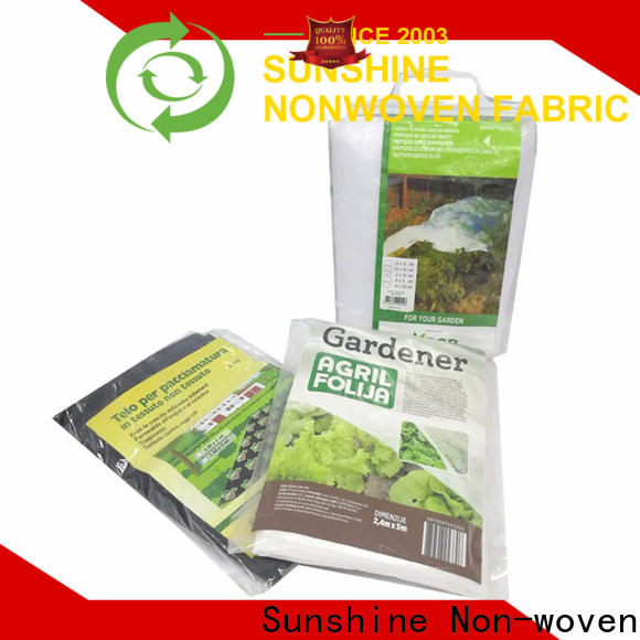 approved landscape fabric 100polypropylene series for greenhouse