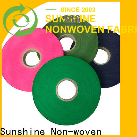 Sunshine colorful spunbond polypropylene fabric wholesale for wrapping