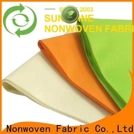 Sunshine soft polypropylene spunbond nonwoven fabric wholesale for packaging