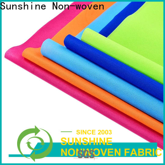 eco-friendly disposable non woven products 100pp manufacturer for bedsheet