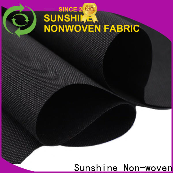 Sunshine eco-friendly non woven synthetic fabric manufacturer for hotel