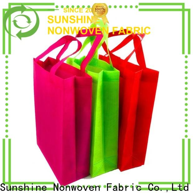 Sunshine single non woven carry bags personalized for home