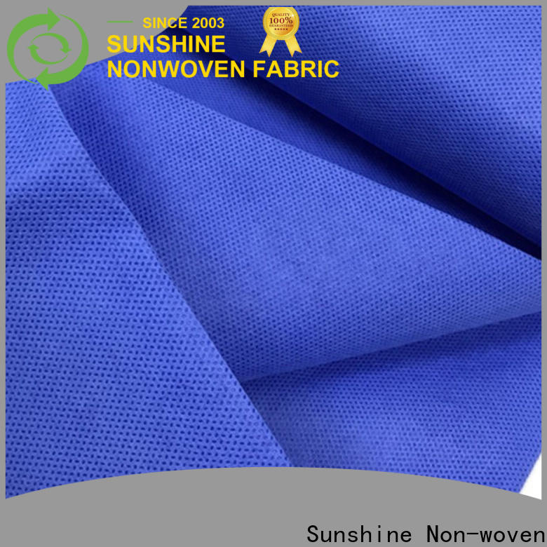 Sunshine medical sms non woven factory for home
