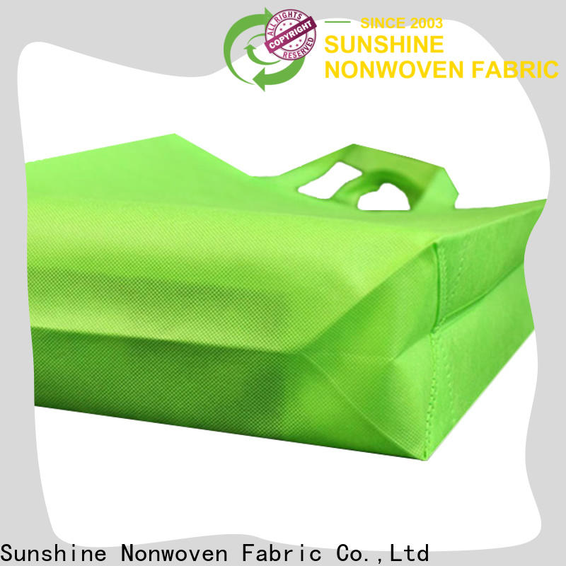Sunshine cut non woven carry bags factory for bed sheet