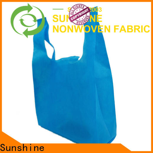 Sunshine waterproof non woven shopping bag personalized for household