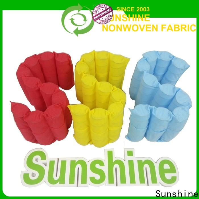 Sunshine antipull waterproof non woven fabric from China for furniture