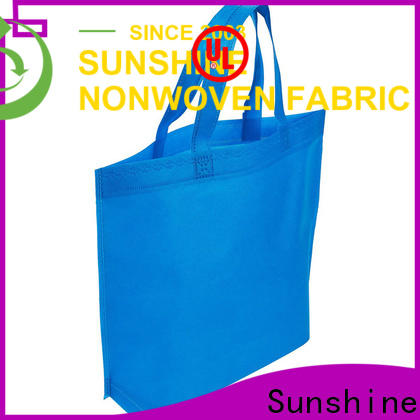 Sunshine tote nonwoven bags directly sale for home