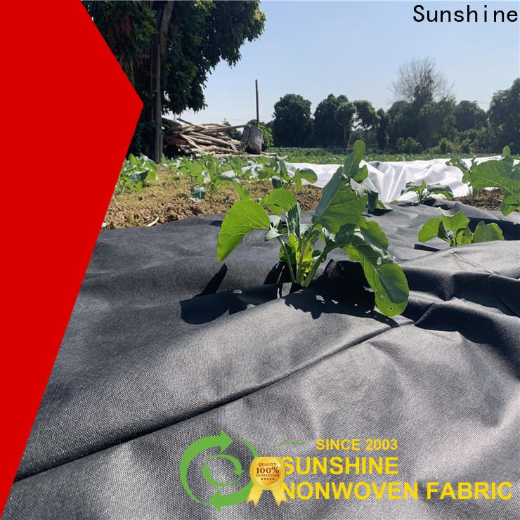 Sunshine quality landscape fabric personalized for covering