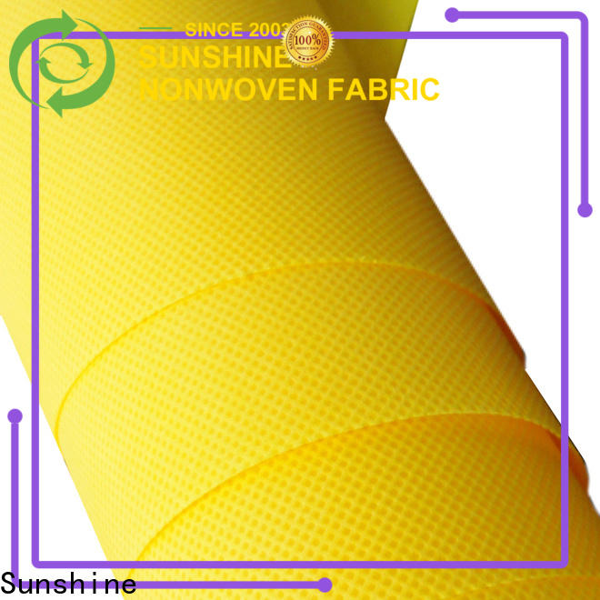 soft polypropylene spunbond nonwoven fabric disposable directly sale for shop