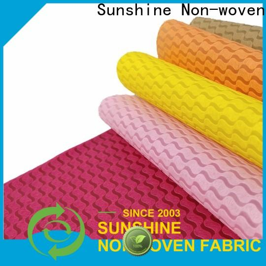 Sunshine tnt non woven embossing inquire now for table