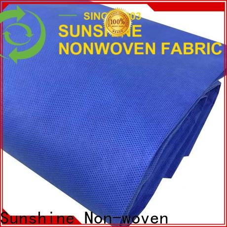 Sunshine medical sms non woven personalized for bed sheet
