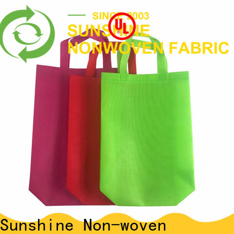 Sunshine single nonwoven bags factory for bed sheet