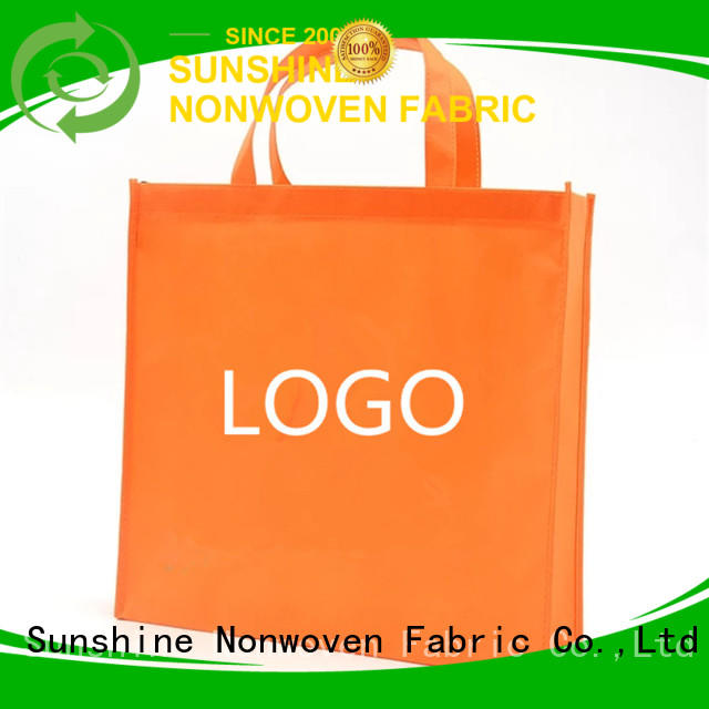 Sunshine non woven carry bags directly sale for bedroom
