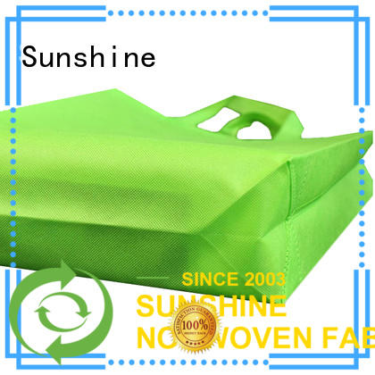 Sunshine nonwoven bags series for household