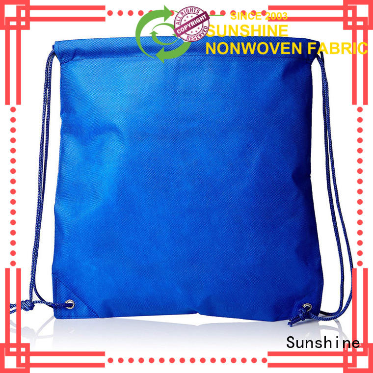 medical non woven shopping bag dcut directly sale for bed sheet