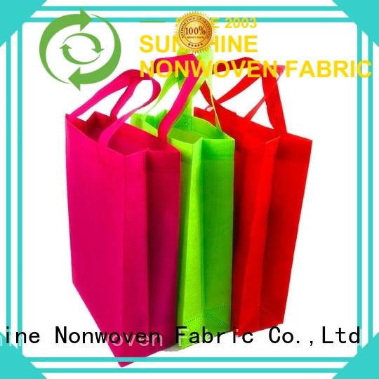 disposable non woven carry bags pocket directly sale for home