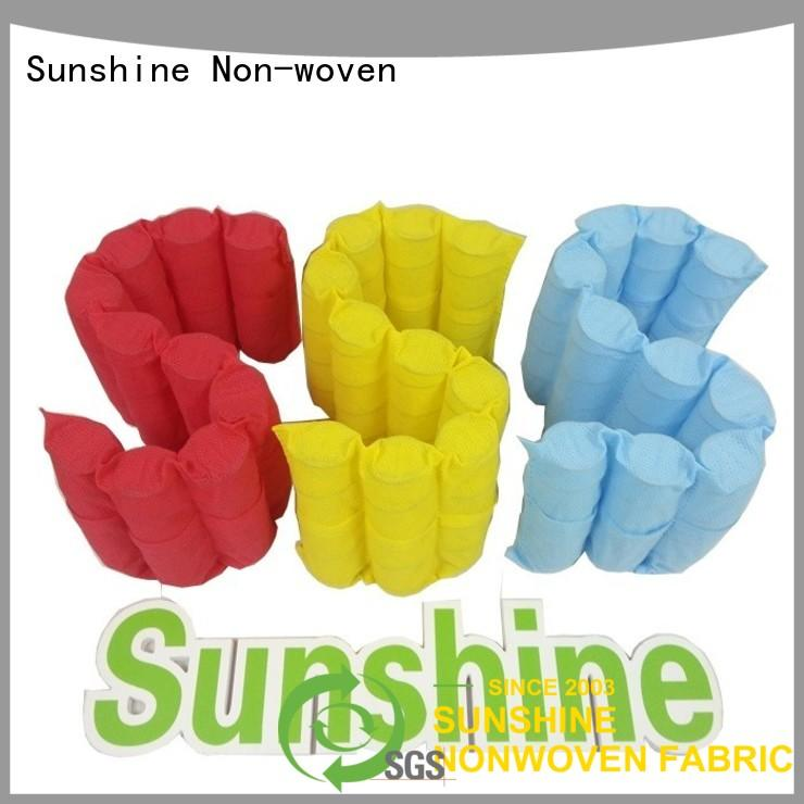 Sunshine colorful waterproof non woven fabric factory price for furniture
