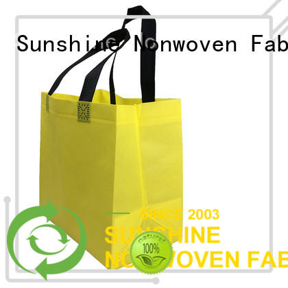 Sunshine disposable non woven shopping bag personalized for bed sheet