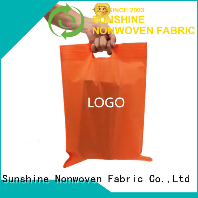 Sunshine non woven shopping bag directly sale for home