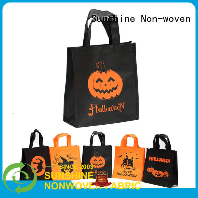 Sunshine printed non woven carry bags wholesale for bedroom