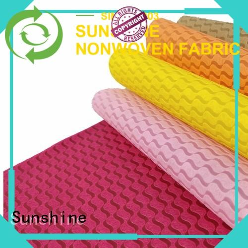 Sunshine non woven embossing inquire now for table