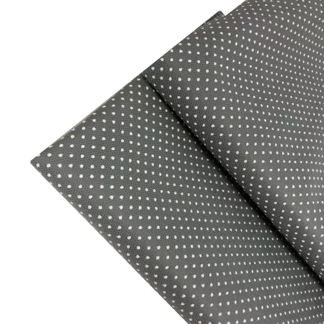 Anti Slip PP Spunbond Nonwoven Fabric for Hotel Shoes/Furniture industry