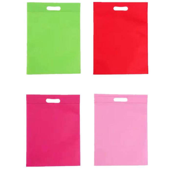 High Quality Customized Various Color D Cut Non-Woven Bags, Die Cut Non-woven Bag