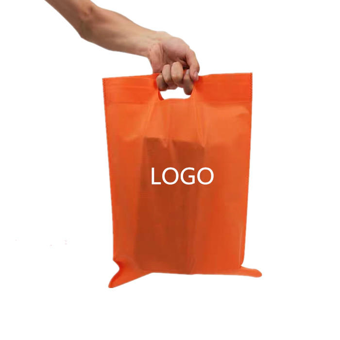 High Quality Customized Various Color D Cut Non-Woven Bags, Die Cut Non-woven Bag