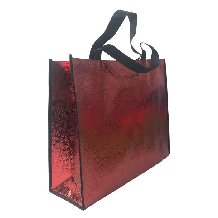 Colorful 100% Polypropylene Laminated Reusable Handle Bags Low Moq Non woven Bag
