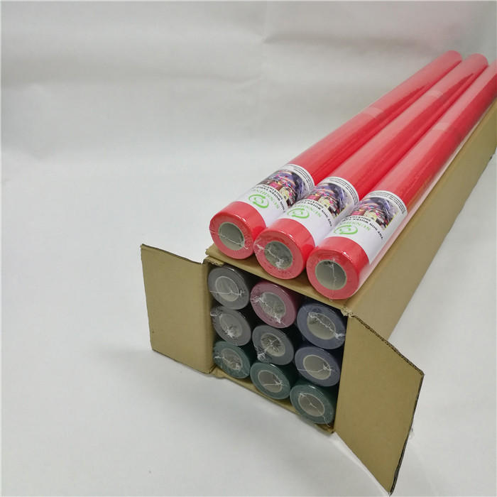 Hot Sell Colorful TNT Biodegradable Disposable Nonwoven Table Cloth Roll