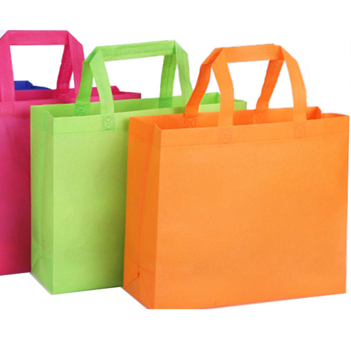 High Quality Eco Friendly Reusable Nonwoven Spunbond Shopping Handle Bag