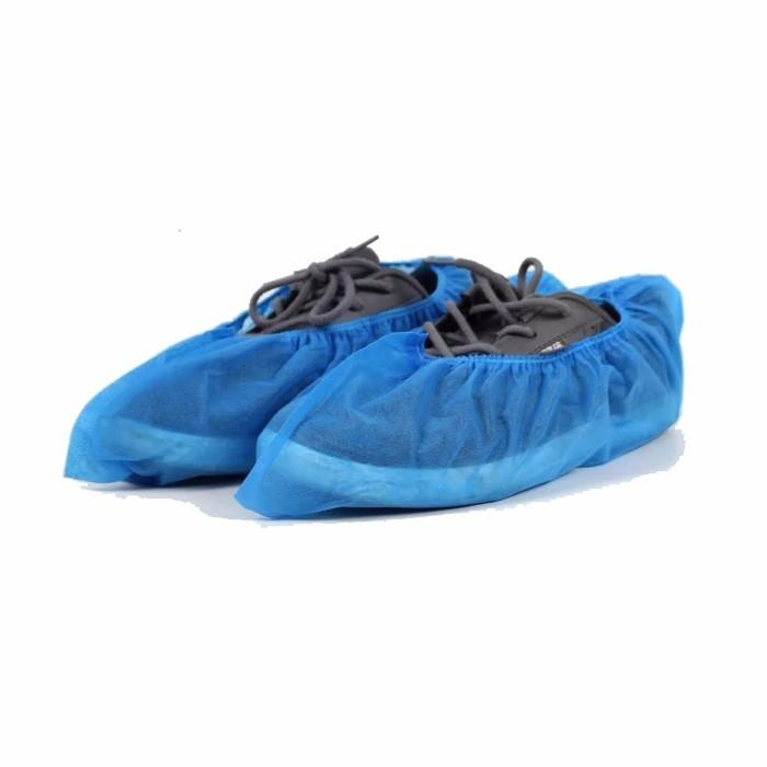 PP Disposable Medical Anti-skid Nonwoven Shoe Cover for Hospital
