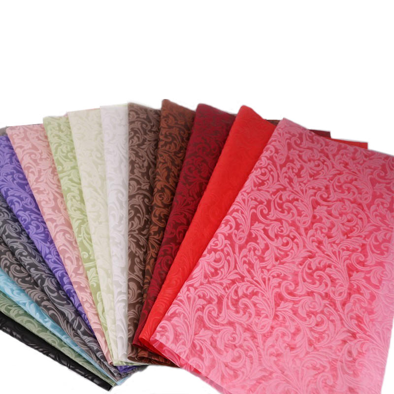 TNT 3D Embossed Non woven Fabric for Wrapping Flower