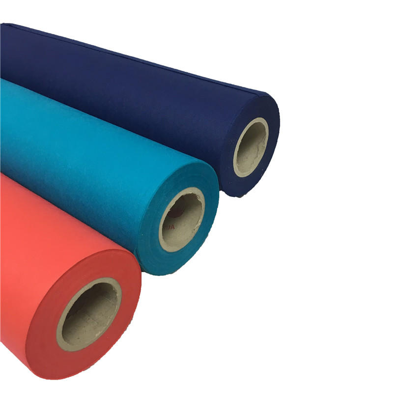 Colorful spunbond 100% polypropylene PP nonwoven fabric rolls breathable tnt non woven material fabric tela no tejida fabric