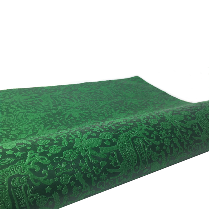 quilting non woven embossing leaf manufacturer for table-1