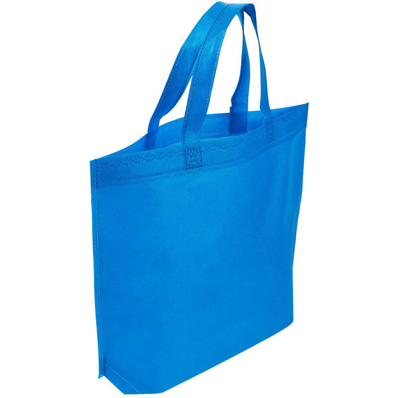 Supermarket Tote Bag Reusable Foldable Nonwoven Handle Carry Bag