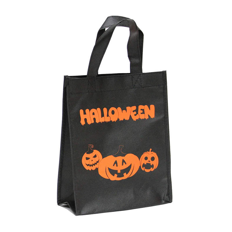 Custom Sewing Halloween PP Nonwoven Handle Bag