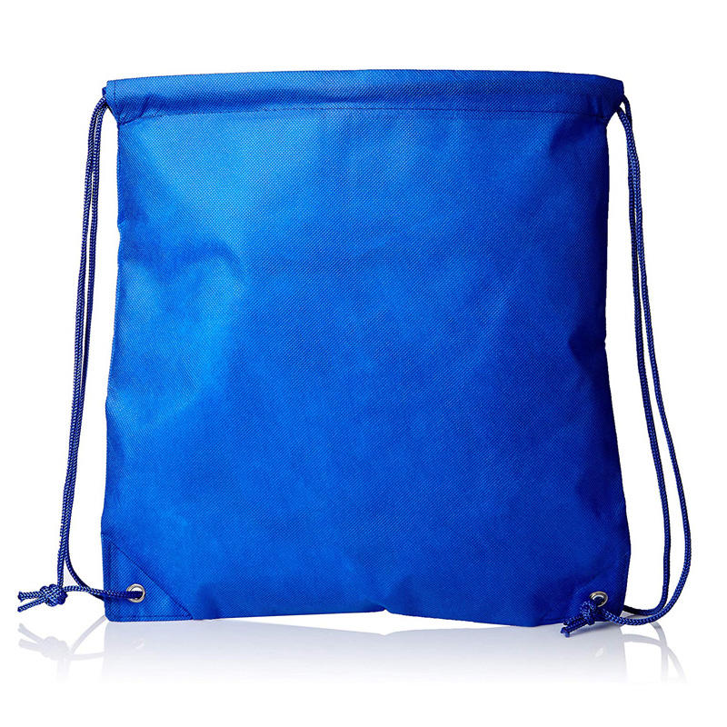 Wholesale Printing Promotional Color Handled Polyester Drawstring Bag