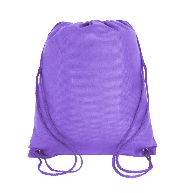Printing Color Handled Polyester Drawstring Bag