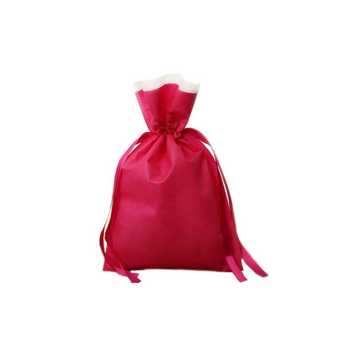 Bundle Pocket Bag LOGO Drawstring Nonwoven Bag