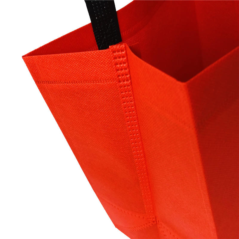 Eco Custom Handle Carry Nonwoven Fabric Shopping Bag