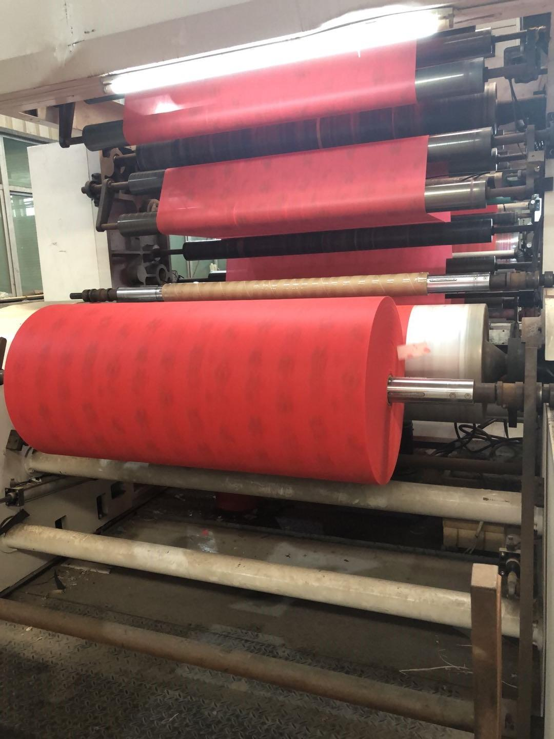 Printed Nonwoven Fabric Production