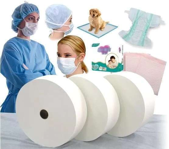 Factory Breathable Disposable Nonwoven face Mask  Rolls