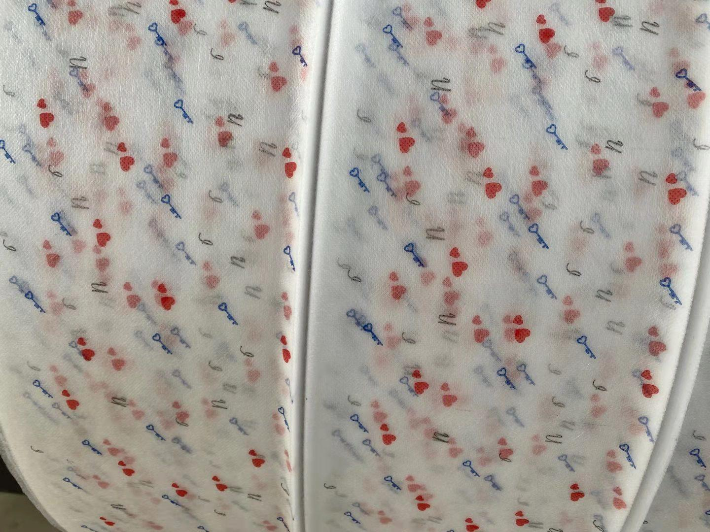 Different Design Printed Nonwoven Fabric for Facemask