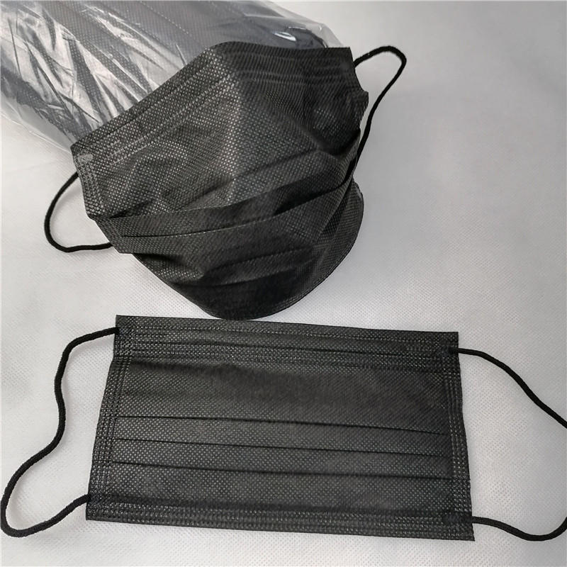 BFE99 Best Price Black 3ply Facemask