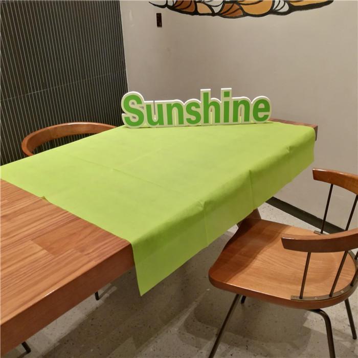 Good Price 1*1m/1.2*1.2m PP Nonwoven Table Cloth