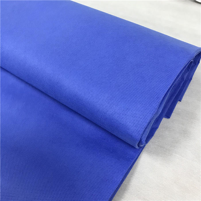 Blue SMS Nonwoven Fabric