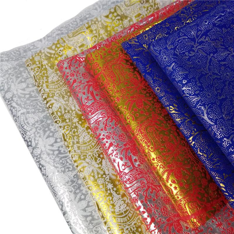 Christmas Design Embossed Nonwoven Fabric